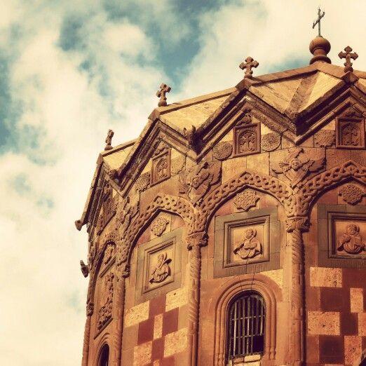 Famous church in Jolfa_Iran