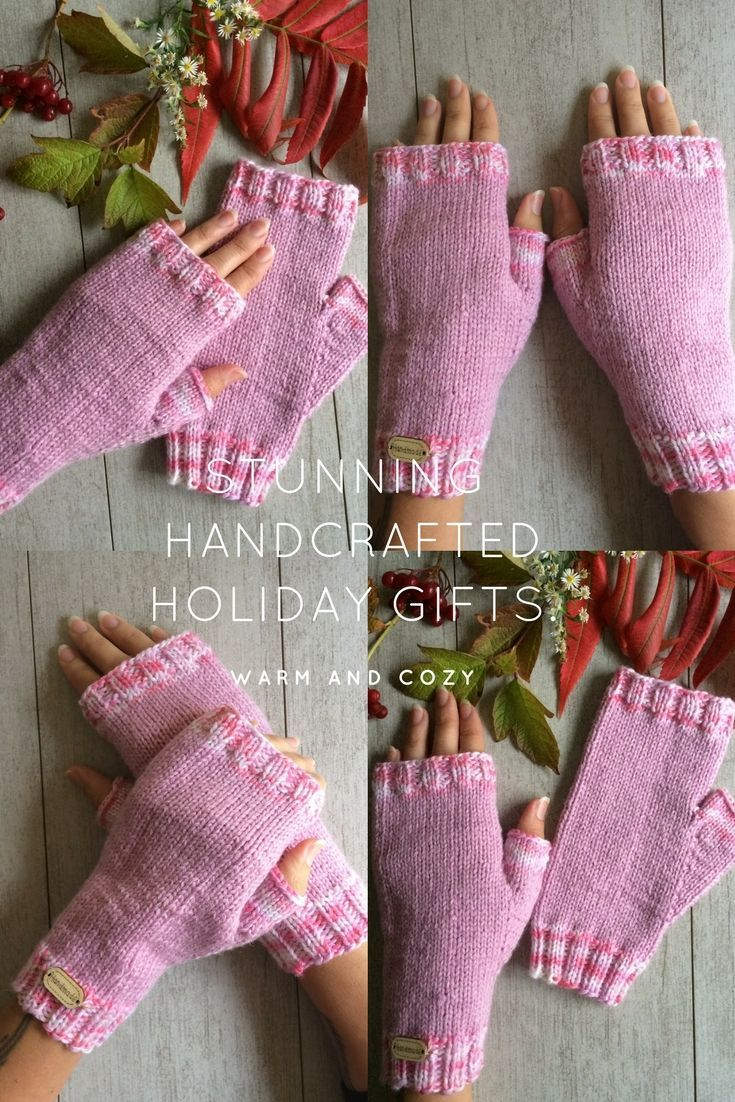 Warm and Cozy Perfect Holiday Gift Ideas. Handmade Classic Christmas Gifts For Her. Infinity Scarves, Yoga Socks, Messy Bun Hats and More.