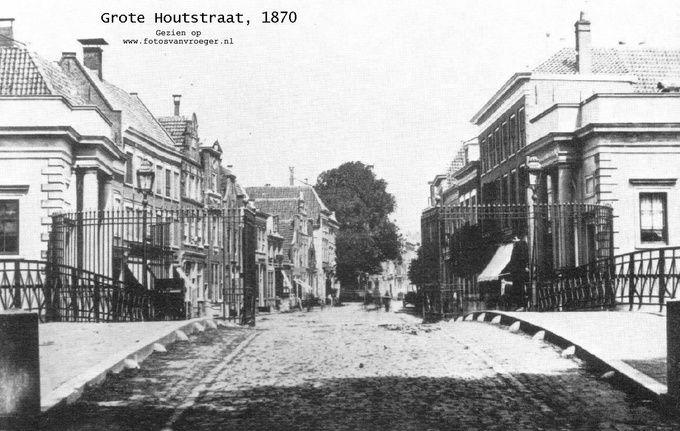 1870 - De Grote Houtpoort en Grote Houtstraat - Serc