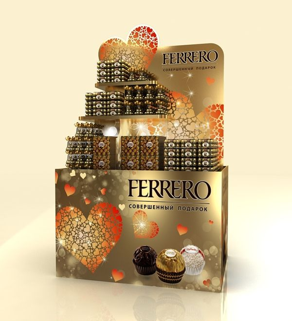 Trade stand Ferrero on Behance
