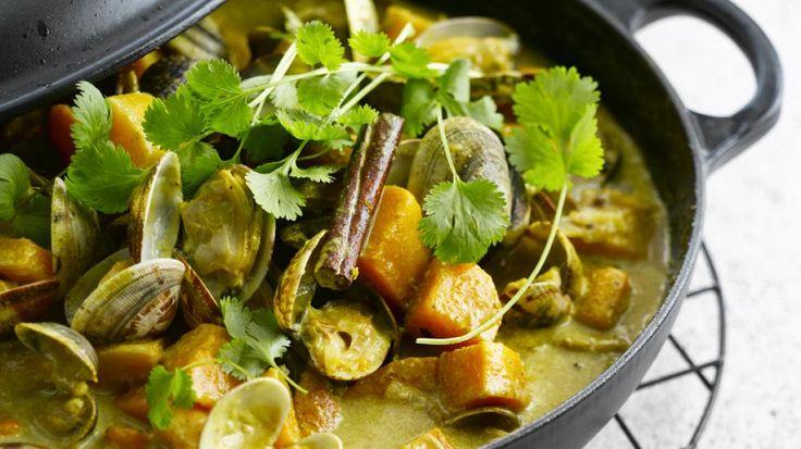 Curry met schelpjes | VTM Koken