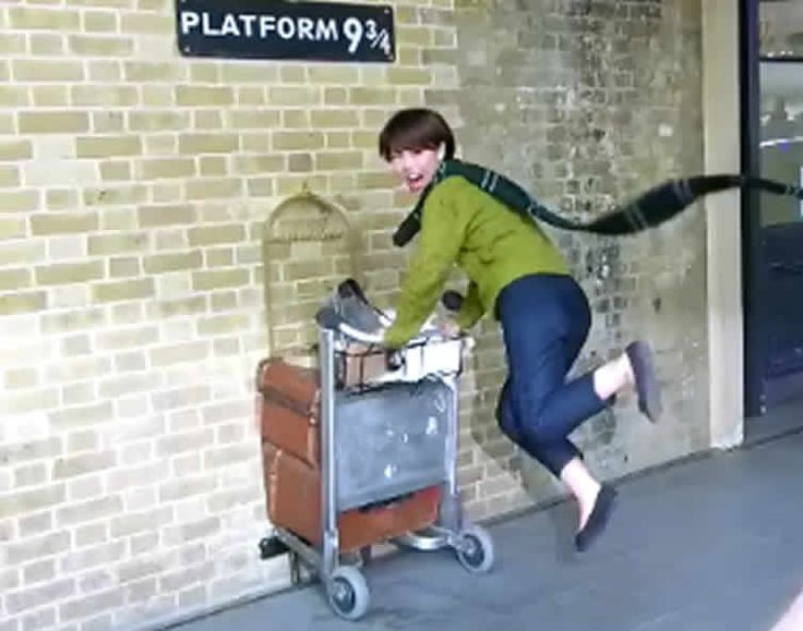 Kings Cross Station Platform 9 3/4