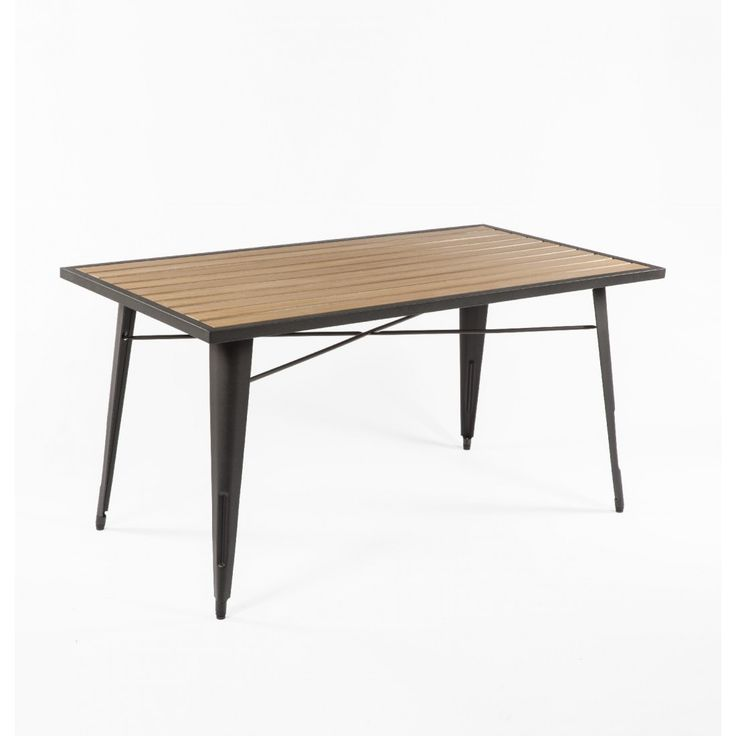 Contemporary Good Form French Outdoor Dining Table