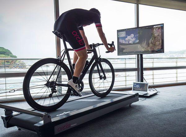 Oren Training indoor cycling trainer treadmill