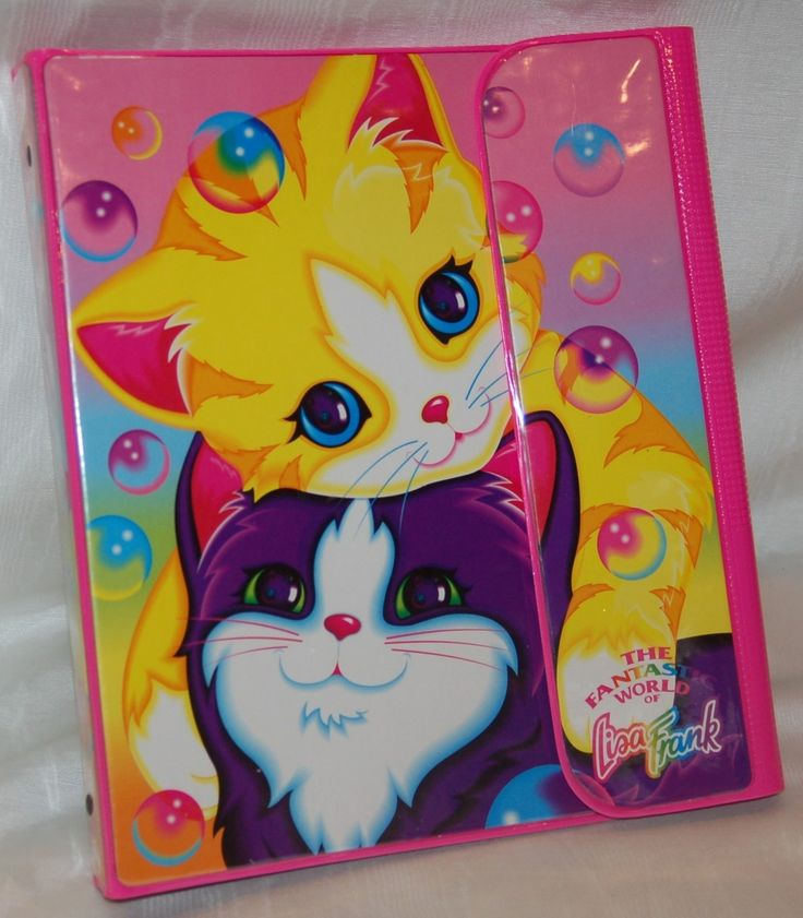 Lisa Frank Trapper Keepers!!