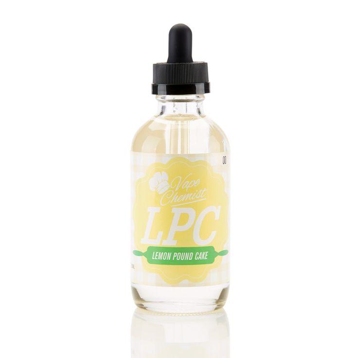 Lemon Pound Cake E-Liquid 120ml