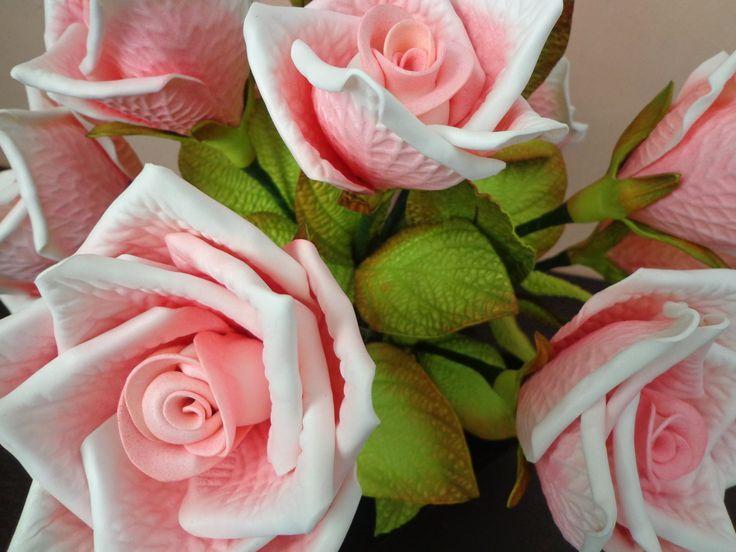 Ramo De Rosas Rosadas en Pinterest | Bouquet De Rosas Amarillo y ...
