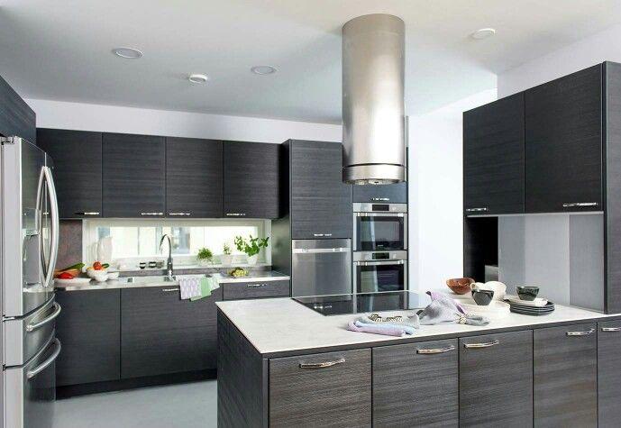 Puustelli Miinus keittiö  kök  kitchen Verso ekotalo asuntomessuilla 2015