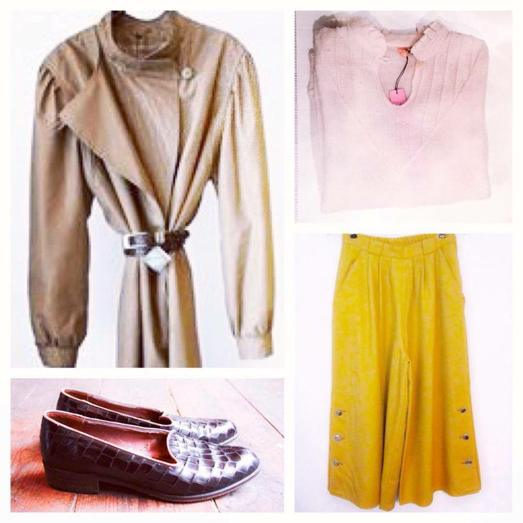 Vintage cotton outerwear, vintage wide legged cropped pants, vintage knit, vintage loafers. All awailable in Beware of Limbo Dancers.... Find us on Facebook..