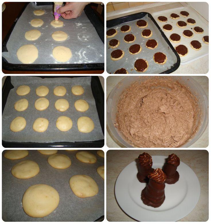 likérové špice s domácim vaječným likérom recept, koňakové špice, čokoládové špice, špice s vaječným likérom, domáce likérové špice ako z cukrárne,