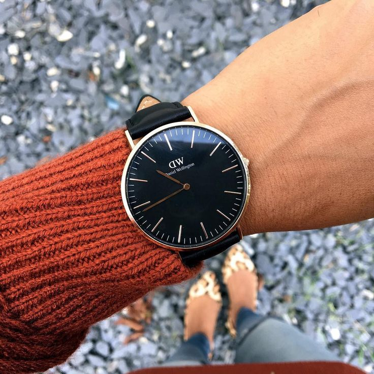 get 15% off when you use my code CAMILLE_DW on www.danielwellington.com || all black watch