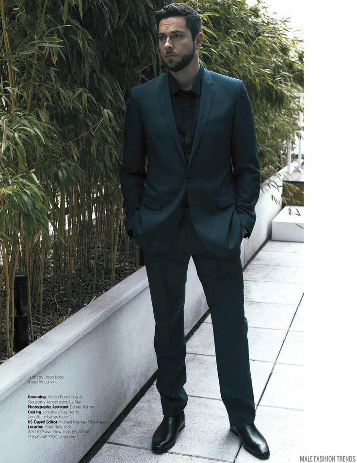 El actor y cantante Zachary Levi protagoniza la editorial que cierra el número Febrero/Marzo 2016 de la revista DA MAN Magazine