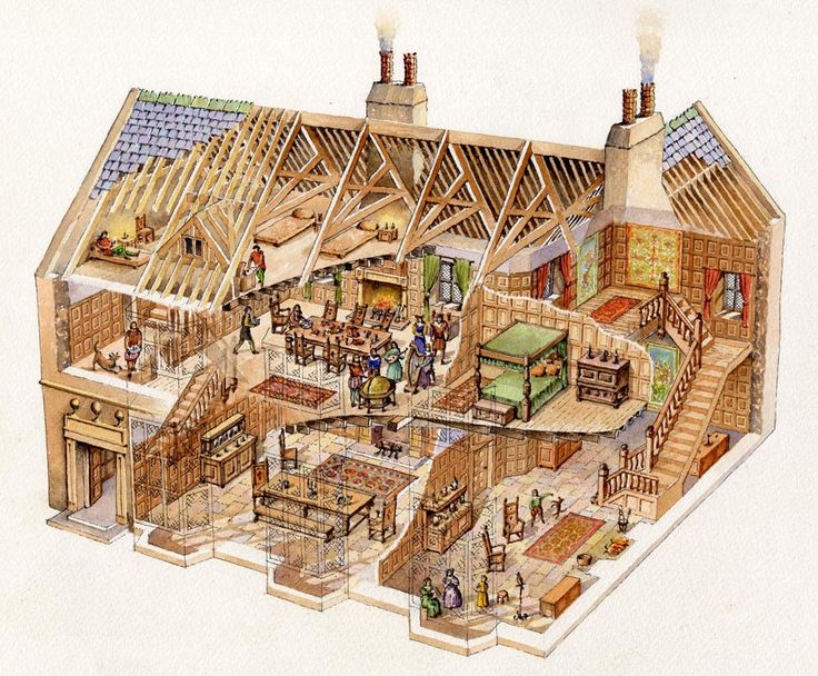 Building Models And Cutaway Images on Roundhouse Floor Plans Design