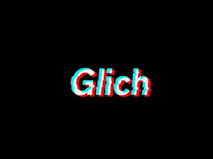 Glich by Logo machine #Design Popular #Dribbble #shots