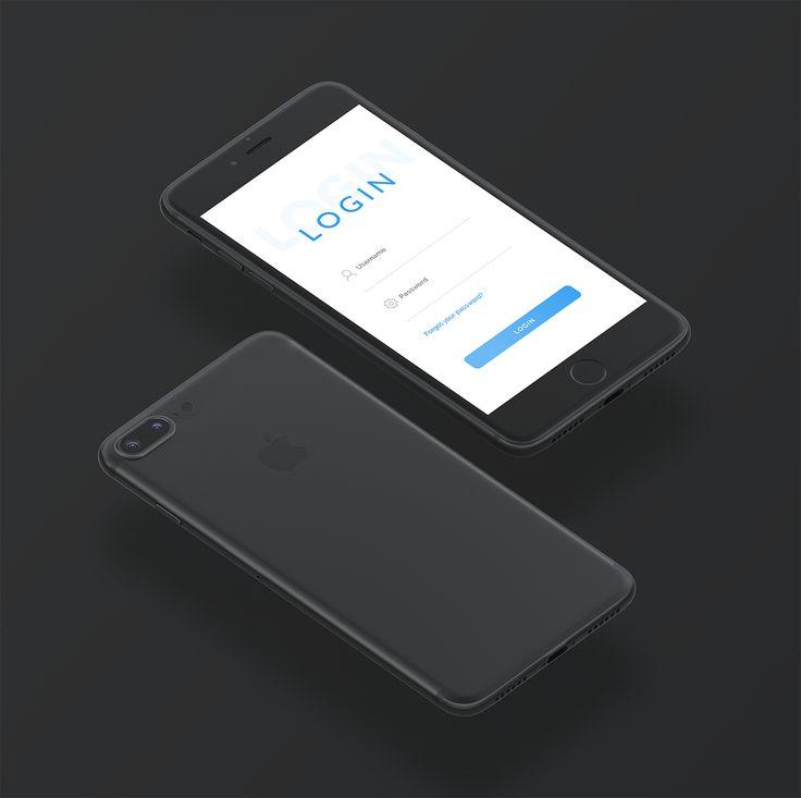Vedi il mio progetto @Behance: \u201cLogin App - UI Design\u201d https://www.behance.net/gallery/50812035/Login-App-UI-Design