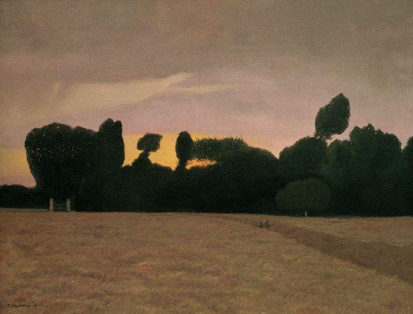 Felix Vallotton  / Landscape in Normandy