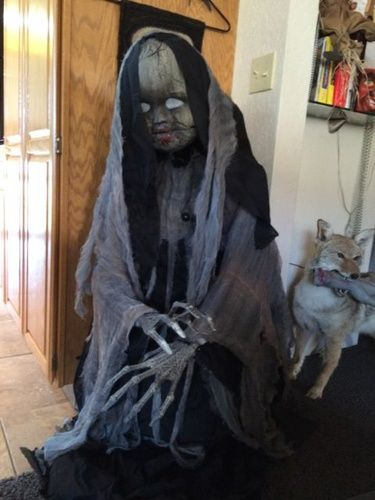 Grandin Road Lady In Black   Other Props For Sale creepy rising doll32 best Halloween Home Decor images on Pinterest   Halloween home  . Martha Stewart Halloween Costumes Grandin Road. Home Design Ideas