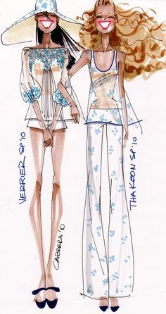 Alfredo Cabrera fashion illustration - Google Search