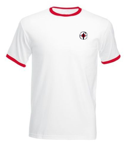 Northern Soul Ringer T-Shirts White & Red from Men Of Distinction