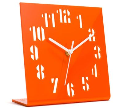 acrylic clock - laser cut or engraved.