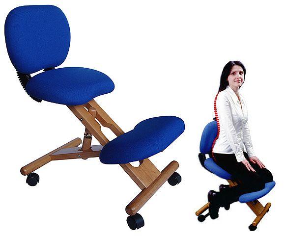 Коленный стул или ортопедический: чертеж своими руками
