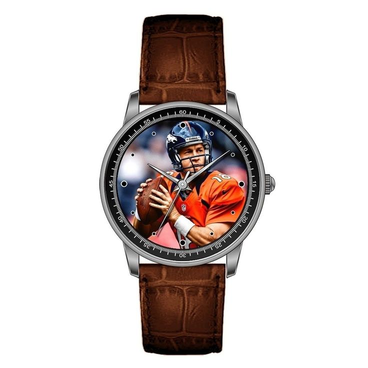 Denver Broncos Peyton Manning Personalized Photo Watch Click Bio to Custmize your photo watch with your favorite player star #peytonmanning #denverbroncos #broncos #broncosnation #broncoscountry #peytonmanning #unitedinorange #gobroncos #broncosup #broncosfans #broncosbaby #broncoswin # wathces #wristwatch #broncosfan #broncoscountry #watch #superbowl #NFL #football #nflmemes #footballgame #nfldraft #superbowl50 #superbowl51 #nfl2016 #nflfootball