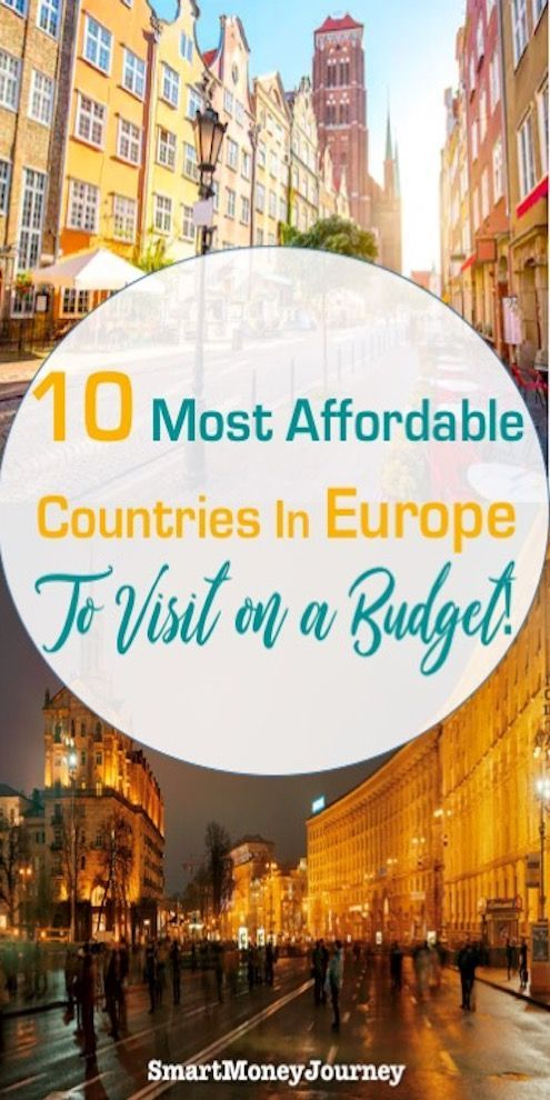 Most cost-effective Nations To Go to in Europe