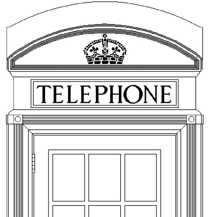 K2 red telephone box plans