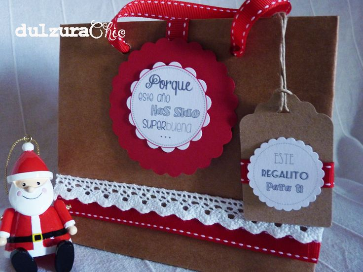 Dulzura chic: Mensaje personalizado de Papá Noel para ti