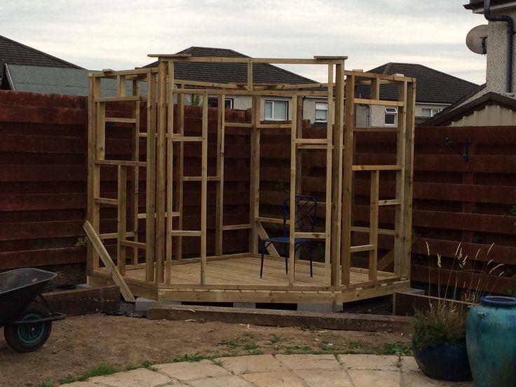 Corner shed - frame