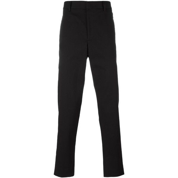 Gucci slim fit chinos (11.515 ARS) ❤ liked on Polyvore featuring men's fashion, men's clothing, men's pants, men's casual pants, black, gucci mens pants, mens chinos pants, mens slim fit pants, mens slim fit chino pants and mens slim pants