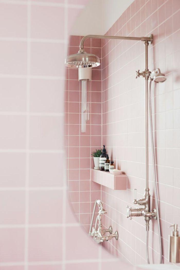 1001 Ideas De Los Mejores Azulejos Para Banos De Ultimas - Azulejos-rosas