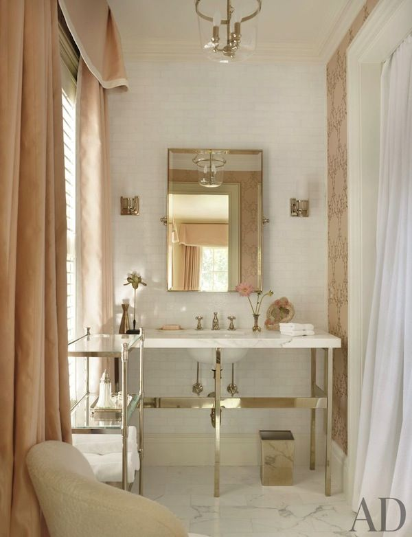 87 best images about pink coral blush on pinterest for Pink and cream bathroom
