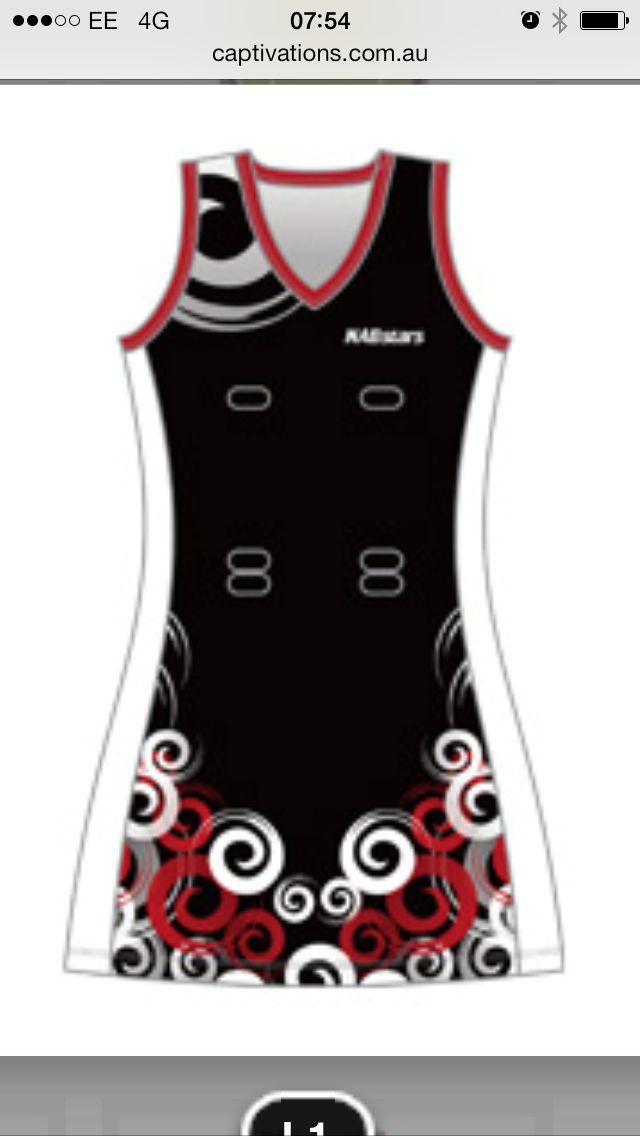 Netball Racerback Dress