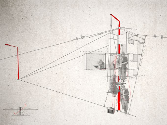 Excrescent Utopia, a parasitic architecture concept. http://www.metalocus.es/content/en/blog/excrescent-utopia-a-parasitic-architecture-concept