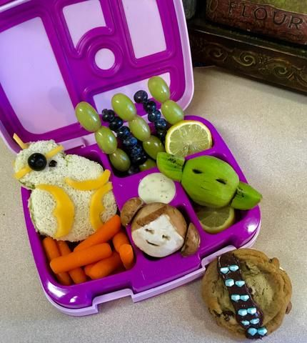 May the 4th be with you! Looking for galactic goodies? Look no further, this is the lunchbox you are looking for!