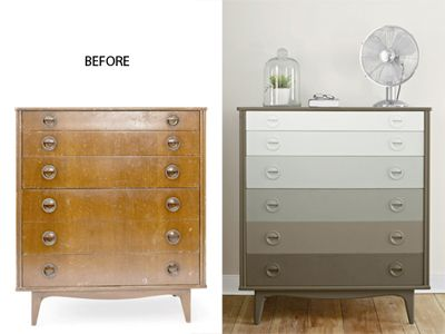 Awesome dresser makeover from  Sherry   Young House Love  Get the how to