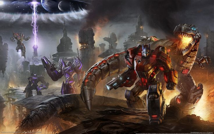 Transformers, Video Games, Optimus Prime, Grimlock, Light - HD ...