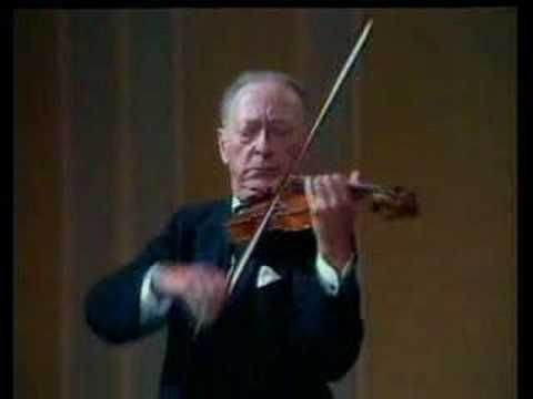 Jascha Heifetz plays Rondo (from Serenade No. 7