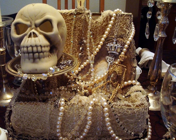 brilliant center piece for an adult halloween party or pirate theme party adulthalloweenparty pirateparty