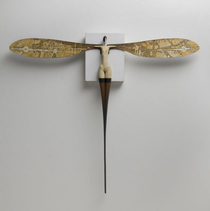 Surreal Wood Sculptures by John Morris