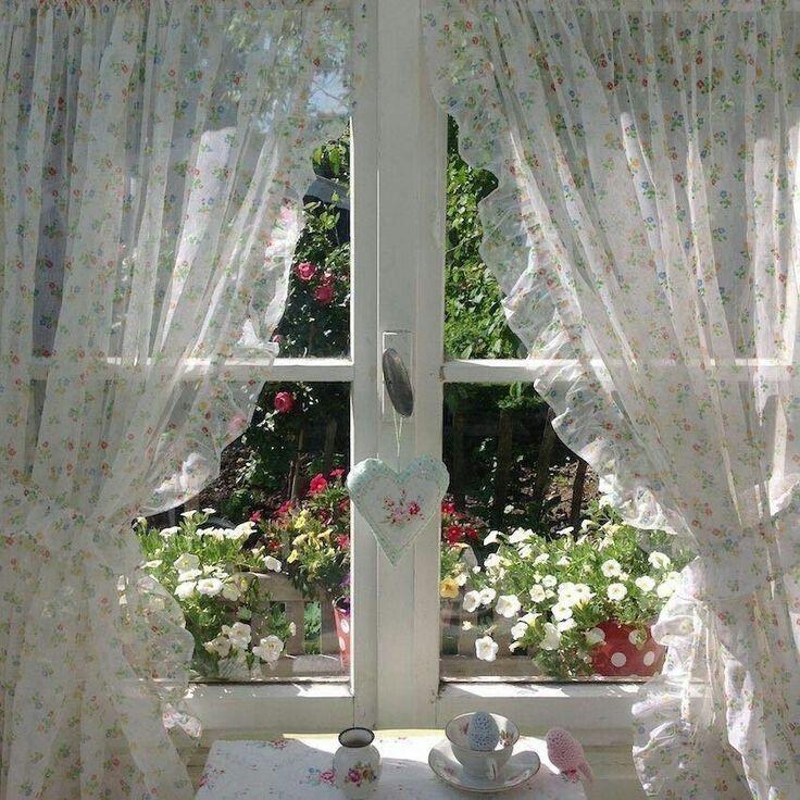 данного картинки красивые окна с занавесками открывшемся окне отыщите