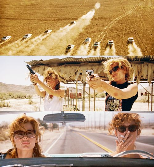 Go? You sure? Yeah.  Thelma & Louise