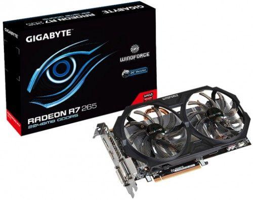 Gigabyte Graphics Card Radeon R7 265 WindForce 2X OC Price in India