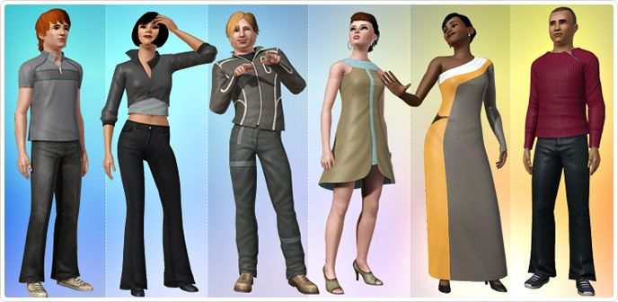Runway Riot - Store - The Sims™ 3