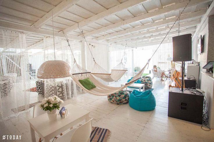 summer cafe design by S. Gorshunov, A. Feoktistova