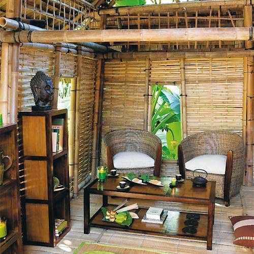 66 Best Bamboo House Images On Pinterest