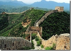 Great Wall, China – The Great Wall in China is another one of the wonders of the world.  It is over 4000 miles long and was mostly built in the 5th century BC, but there are many sections of the wall that were built hundreds of years later.  It is estimated that 2 to 3 million Chinese died as part of building the wall.