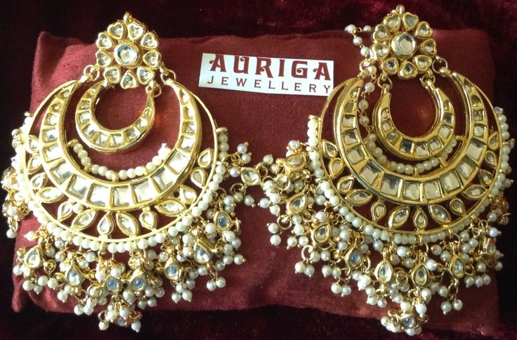 Big Chandbali's for all outfits by Auriga