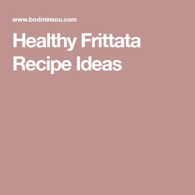 Healthy Frittata Recipe Ideas
